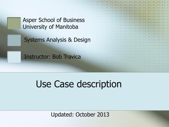 use case description n.