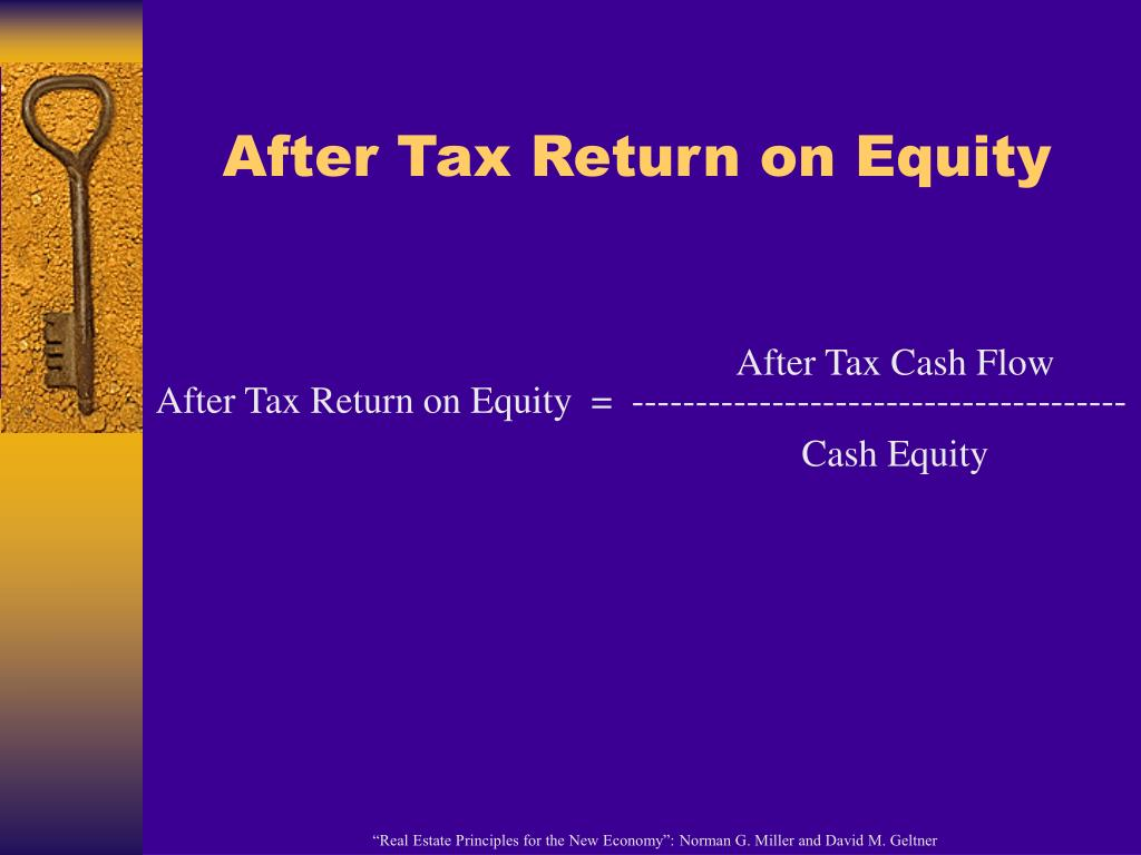 After Tax Return on Equity
