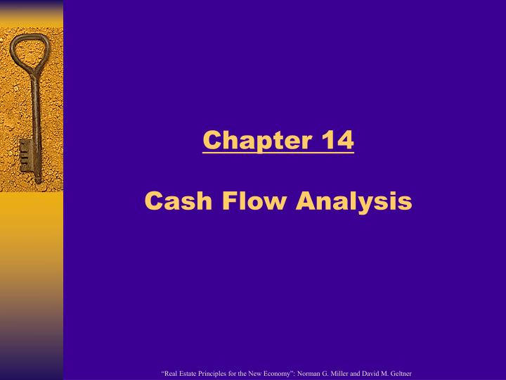Chapter 14 cash flow analysis