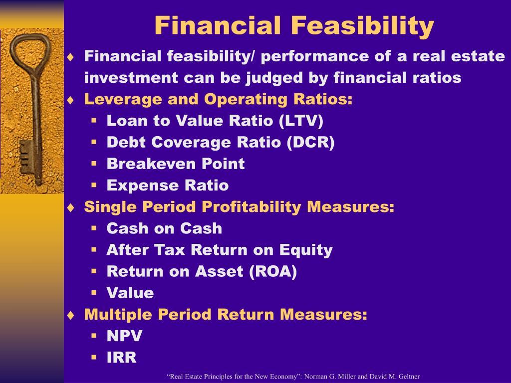 Financial Feasibility