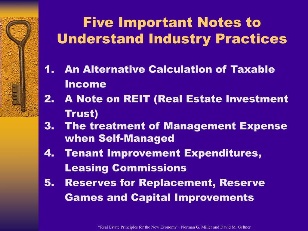 Five Important Notes to Understand Industry Practices