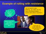 example of rolling with resistance