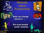 rewards versus punishments