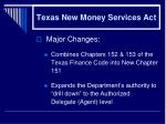 texas new money services act33