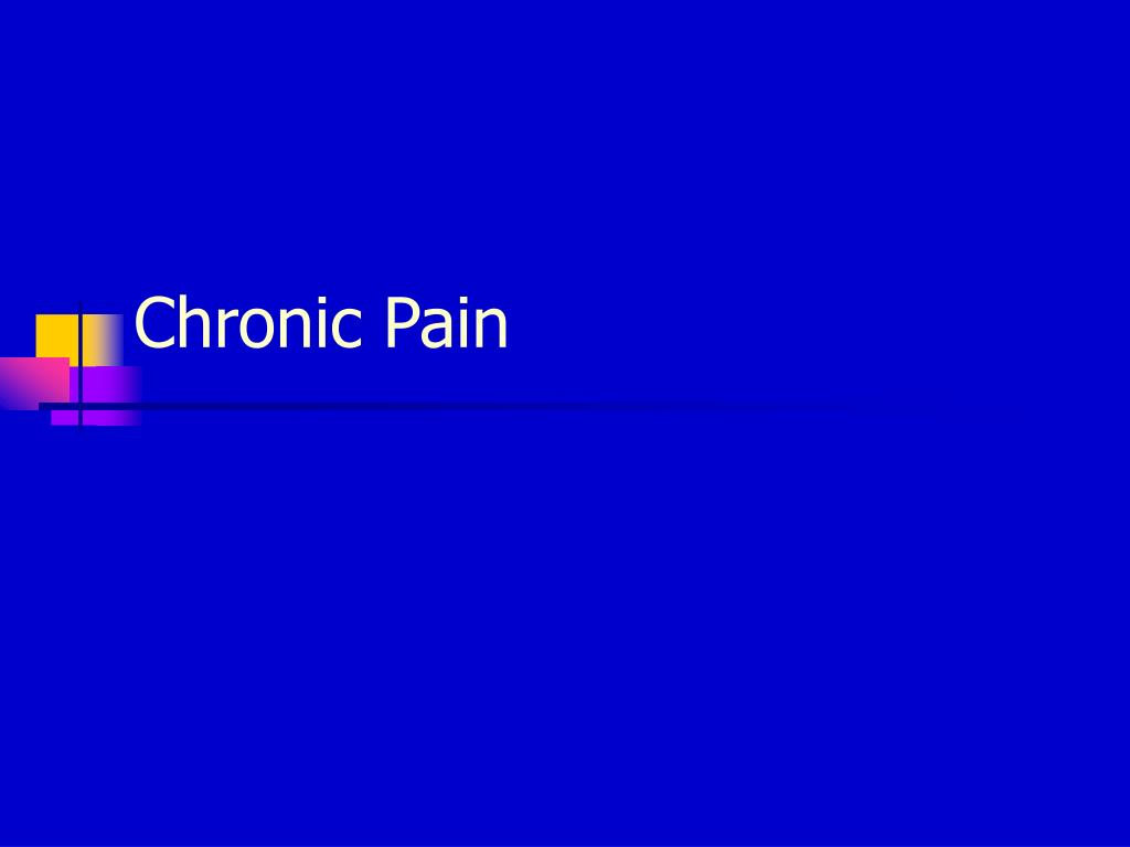 chronic pain l.