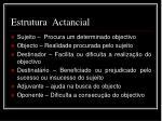 estrutura actancial