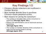 key findings 1 2