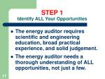 step 1 identify all your opportunities17