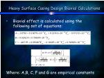 heavy surface casing design biaxial calculations37