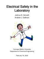 electrical safety in the laboratory