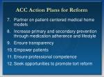 acc action plans for reform16