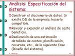 an lisis especificaci n del sistema45