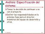 an lisis especificaci n del sistema47