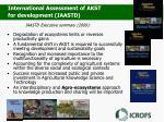 iaastd executive summary 2009