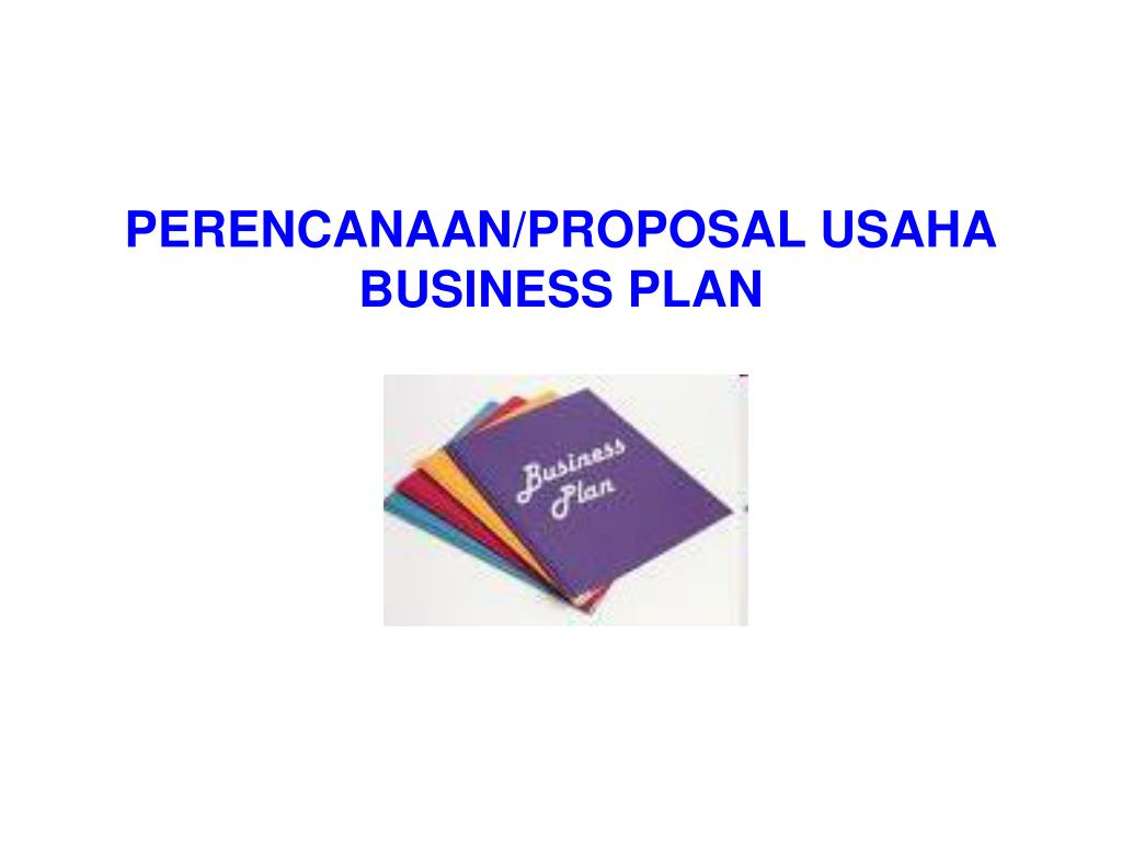 perencanaan proposal usaha business plan l.