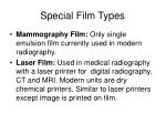 special film types35