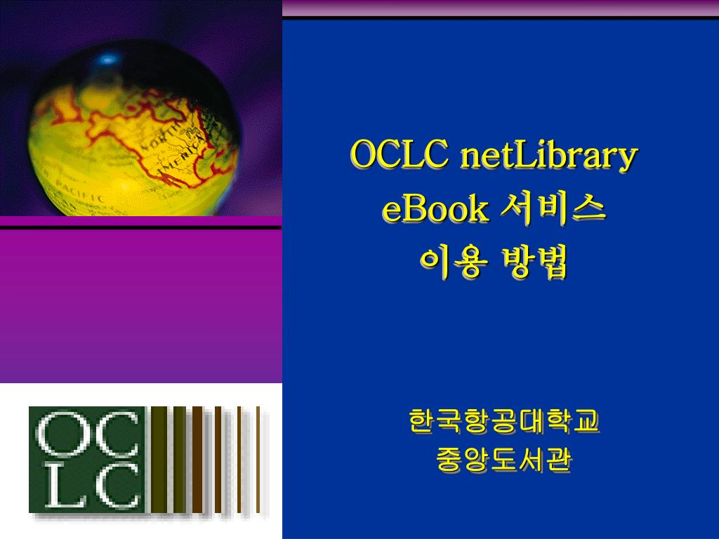 oclc netlibrary ebook l.