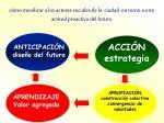 c mo movilizar a los actores sociales de la ciudad en torno a una actitud proactiva del futuro