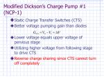 modified dickson s charge pump 1 ncp 110