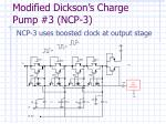modified dickson s charge pump 3 ncp 3