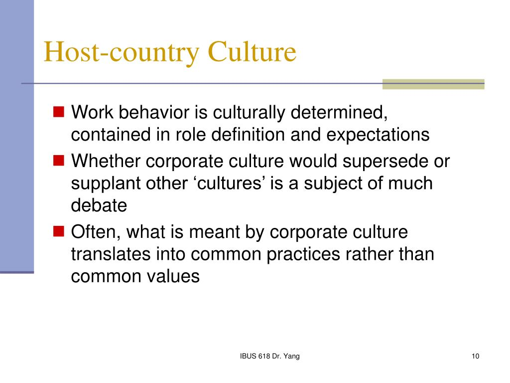 what is meant by corporate culture essay