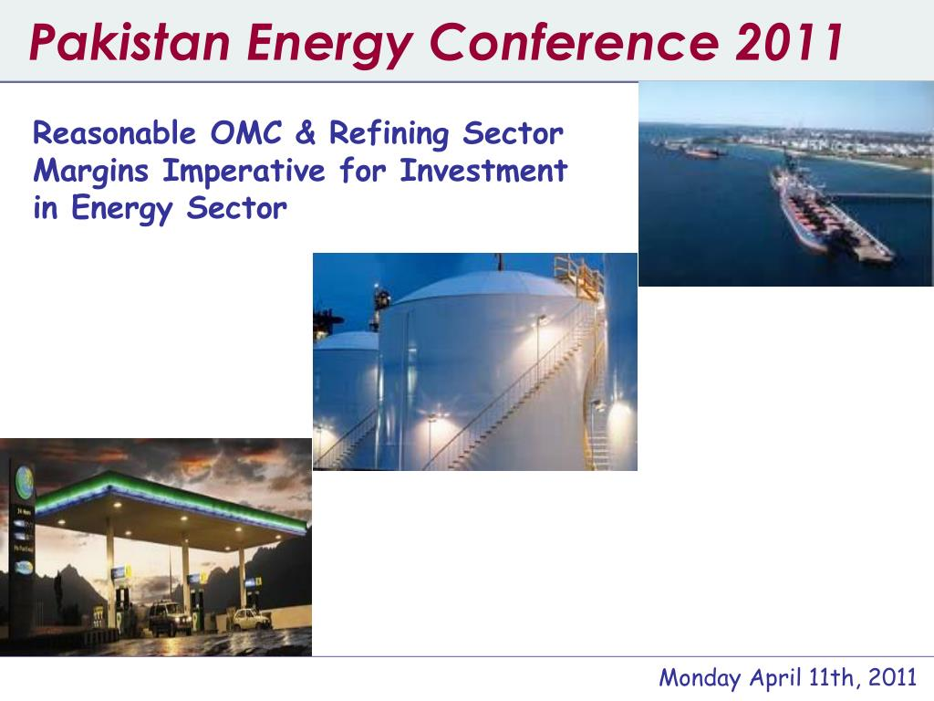 pakistan energy conference 2011 l.