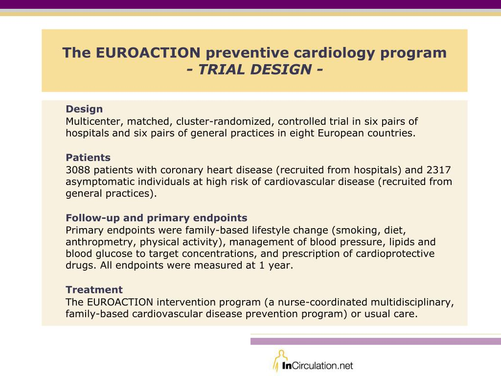 The EUROACTION preventive cardiology program