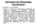 sistemas de pensiones solidarias