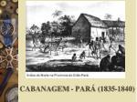 cabanagem par 1835 1840