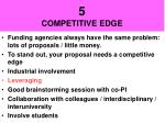 5 competitive edge