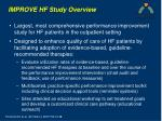improve hf study overview