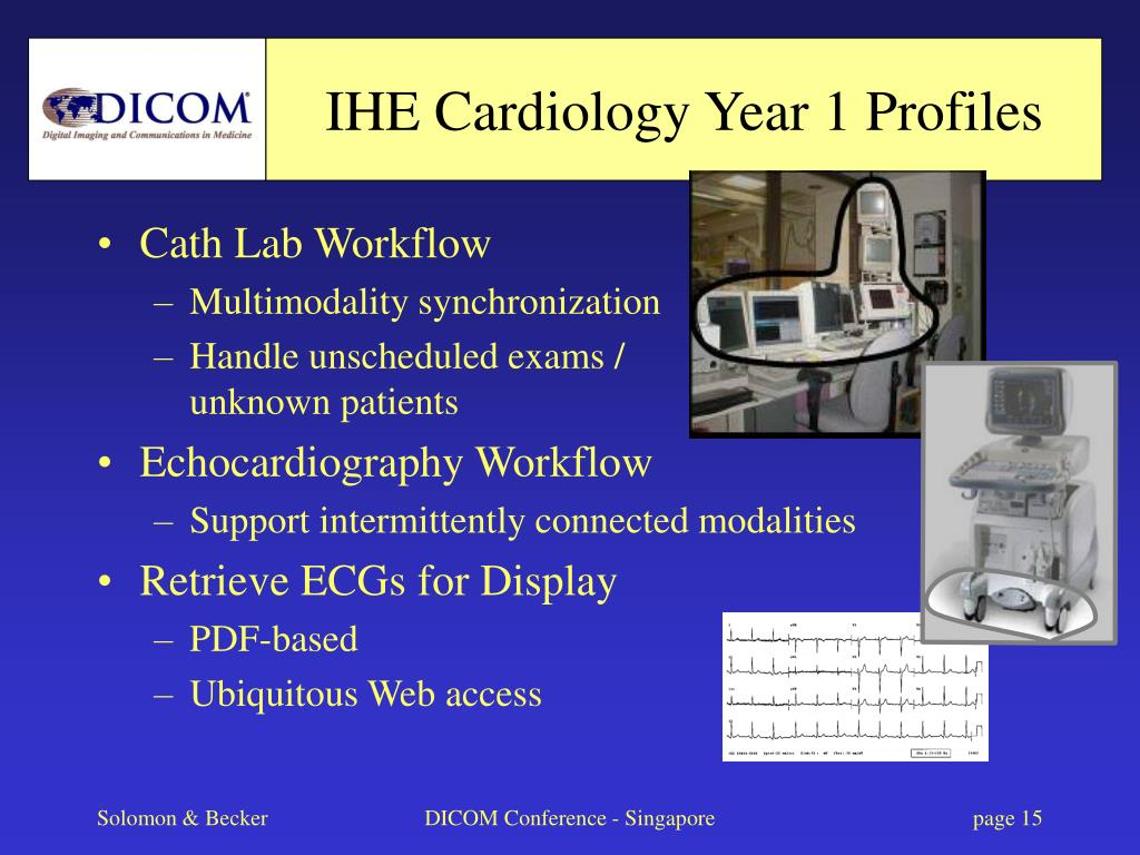 IHE Cardiology Year 1 Profiles