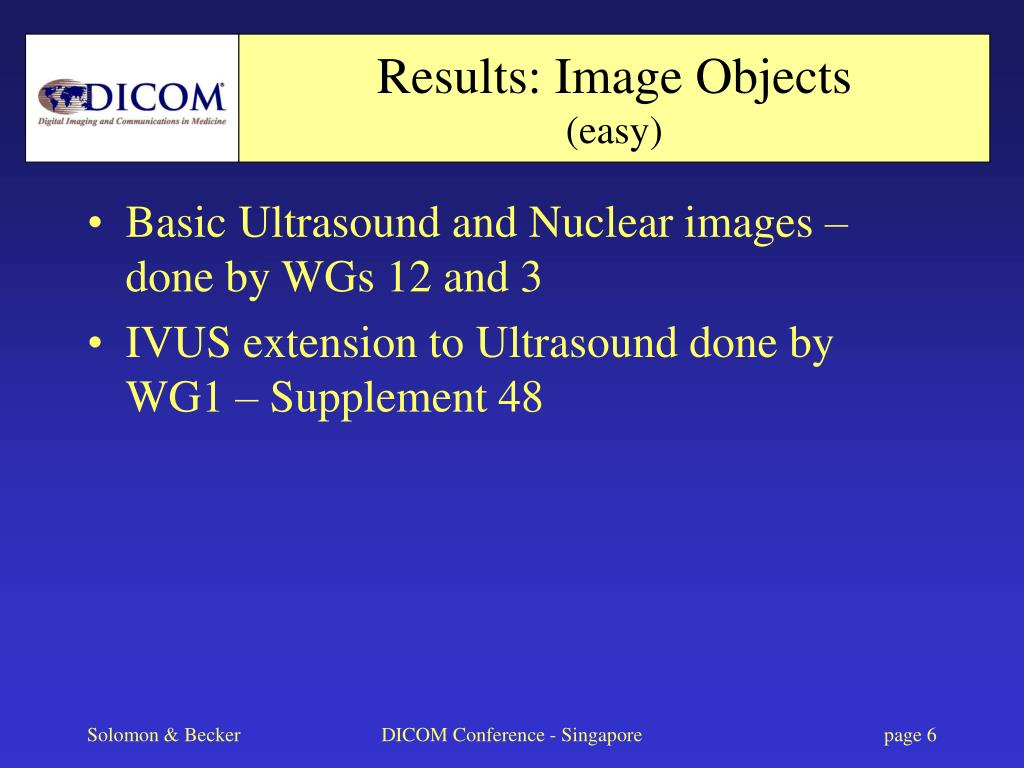 Results: Image Objects