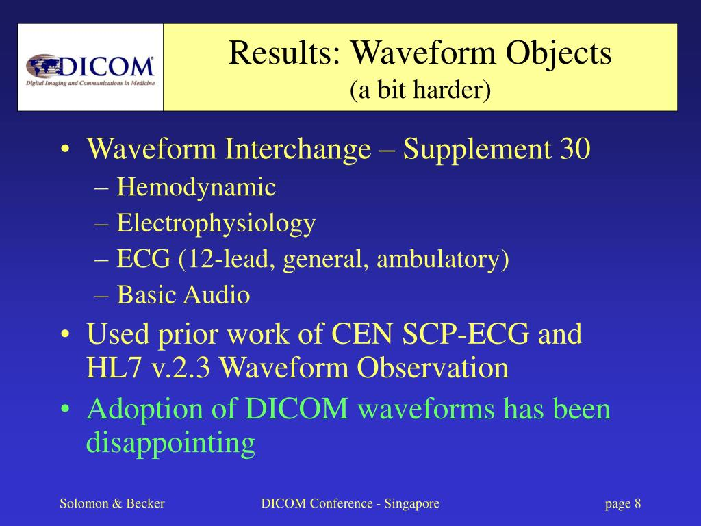 Results: Waveform Objects