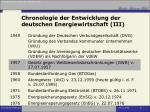 chronologie der entwicklung der deutschen energiewirtschaft iii