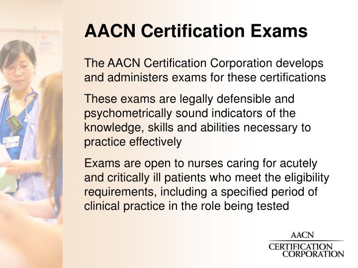 Ppt Aacn Certification Powerpoint Presentation Id22695