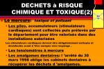 dechets risque chimique et toxique 2