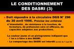 le conditionnement des dasri 3