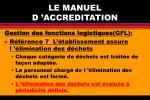 le manuel d accreditation