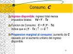 consumo c
