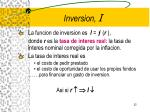 inversion i