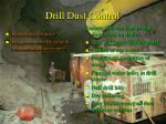 drill dust control