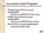 sub program282
