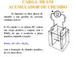 carga de um acumulador de chumbo16