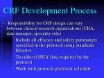 crf development process15