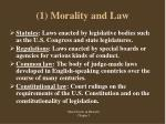 1 morality and law