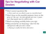tips for negotiating with car dealers27