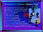 revolution in content ebooks rule