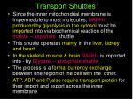 transport shuttles