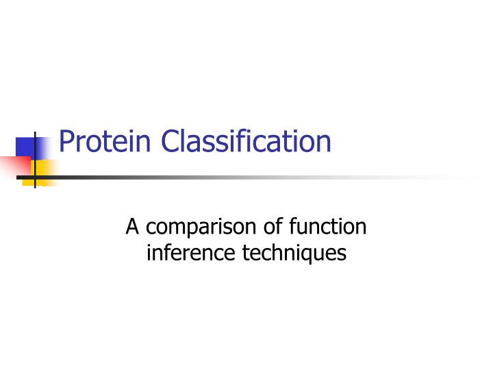 protein classification n.